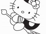 Hello Kitty Witch Coloring Pages Hello Kitty Printable Coloring