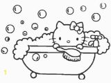 Hello Kitty with Dolphin Coloring Pages Hello Kitty Coloring Pages Collection