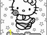 Hello Kitty with Glasses Coloring Pages 13 Best Hello Kitty Birthday Images