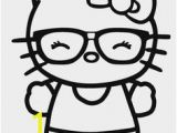 Hello Kitty with Glasses Coloring Pages 15 Best Hello Kittt Images