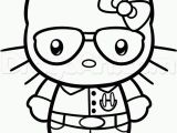 Hello Kitty with Glasses Coloring Pages Free Hello Kitty Drawing Pages Download Free Clip Art Free