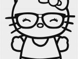 Hello Kitty with Glasses Coloring Pages Free Printable Hello Kitty Coloring Pages for Pages