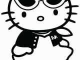 Hello Kitty with Glasses Coloring Pages Hello Kitty Princess Para Colorear Hello Kitty Coloring