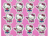 Hello Kitty with Glasses Coloring Pages Hello Kitty Stickers 4 Sticker Sheets Of 24 Hello Kitty Designs 96 total Stickers