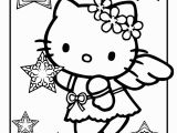 Hello Kitty Xmas Coloring Pages Free Big Hello Kitty Download Free Clip Art