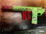 Hello Kitty Zombie Coloring Pages Cerakote Zombie Hello Kitty themed Rifle Finish by Mike