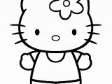 Hello Little Kitty Coloring Pages Download or Print This Amazing Coloring Page Black and