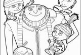 Hellokids.com Coloring Pages Despicable Me Gru and All the Family Coloring Page More Despicable