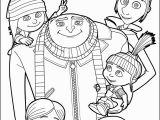 Hellokids Com Coloring Pages Despicable Me Gru and All the Family Coloring Page More Despicable