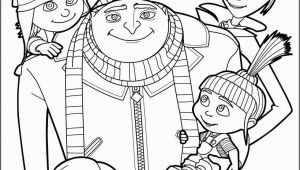 Hellokids Com Coloring Pages Despicable Me Gru and All the Family Coloring Page More Despicable