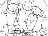 Helping Others Coloring Pages for Preschoolers Children Helping Others Coloring Pages at Getcolorings