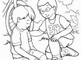 Helping Others Coloring Pages for Preschoolers I Can Follow Jesus by Helping Others Coloring Page