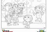 Henry Hugglemonster Coloring Page Elegant Disney Junior Coloring Pages