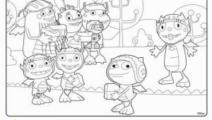 Henry Hugglemonster Coloring Page Elegant Disney Junior Coloring Pages