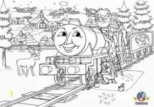 Henry Thomas the Train Coloring Pages Printable Christmas Colouring Pages for Kids Thomas Winter Pictures