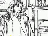 Hermione Granger Coloring Page 24 Best Harry Potter Birthday Plans Images
