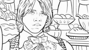 Hermione Granger Coloring Page Harry Potter and the Goblet Of Fire 2000 Coloring Book