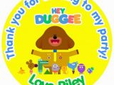 Hey Duggee Coloring Pages 2 4 Gbp Hey Duggee Personalised Gloss Birthday Party Bag