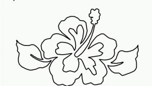Hibiscus Flower Coloring Page Tropical Flower Coloring Pages Coloring Pages Kids 2019