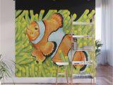 High End Wall Murals Clownfish Wall Mural