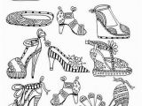 High Heels Coloring Pages Pin Od Anna Szyszka Na Wall Drawings