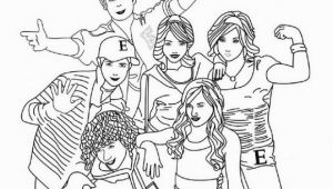 High School Musical Coloring Pages Printable Kids N Fun