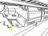 High Speed Train Coloring Pages Big Train Coloring Pages Hellokids