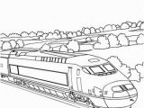 High Speed Train Coloring Pages High Speed Train Travelling In A Country Landscape Coloring Pages
