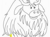 Highland Cow Coloring Page 81 Best Domestic Animals Coloring Pages Images