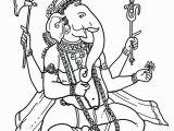 Hindu Gods and Goddesses Coloring Pages Coloring Pages Hindu Gods Ganesha Drawings