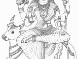 Hindu Gods and Goddesses Coloring Pages Hindu Gods Pencil Coloring Pages