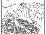Hispanic Heritage Coloring Pages Machu Picchu Coloring Page Araceli