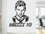 Hockey Wall Murals Football Team Logo Wall Art Sticker Messi Vinyl Wall Sticker for