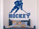 Hockey Wall Murals Hockey Wall Decal Sports Sports Wall Decal Stickers Hockey Player