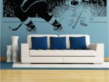 Hockey Wall Murals Vinyl Wall Decal Sticker Hockey Game 5088