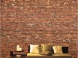 Hogwarts Express Wall Mural Red Brick Wall Mural for Lofr Room Stone Wall Decal for Home Brick Wall Decal for Decor Rustic Wallpapers for Living Room Sku