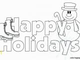 Holiday Coloring Pages Printable Free Happy Holidays Coloring Page Pages Printable Winter Holiday