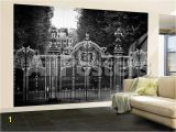 Hollywood Sign Wall Murals Wall Mural Gate at Buckingham Palace Green Park London Uk England United Kingdom