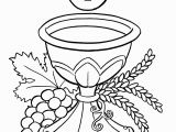 Holy Communion Coloring Pages for Kids Catholic Drawing at Getdrawings