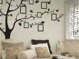 Home Decor Mural Art Wall Paper Stickers Black Tree Removable Wallpaper Deco Pinterest