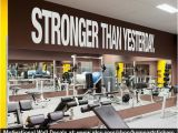 Home Gym Wall Murals Stronger Than Yesterday Quote Sports Decals Gym Wall Decal