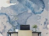 Home Office Wall Murals Fabulous Creative Backdrop Shown In This Ink Spill