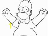 Homer Simpson Coloring Page 43 Best Simpson S Images