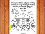 Honor Thy Father and Mother Coloring Pages 554 Best Sunday School Ideas Images On Pinterest In 2018