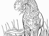 Horse Coloring Pages Hard Fresh Abstract Horse Coloring Pages Katesgrove