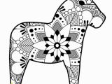 Horse Dressage Coloring Pages Print at Home Holiday Cards