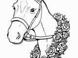 Horse Head Coloring Pages/ Printable Free Printable Horse Coloring Pages for Kids