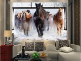 Horse Murals for Bedroom Walls Wallpaper Horse White Horse Mural Continental Back Wall