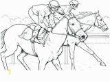 Horse Racing Coloring Pages Car Free Clipart 239