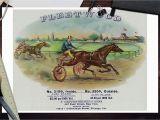 Horse Racing Wall Murals Amazon Fleetwood Brand Cigar Box Label Horse Racing